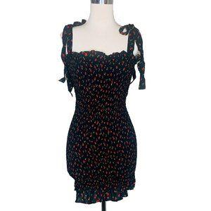 Free People Womens Dress Small Bella Smocked New